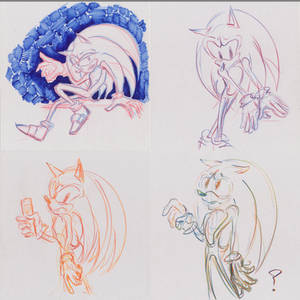 Sanic Sketches