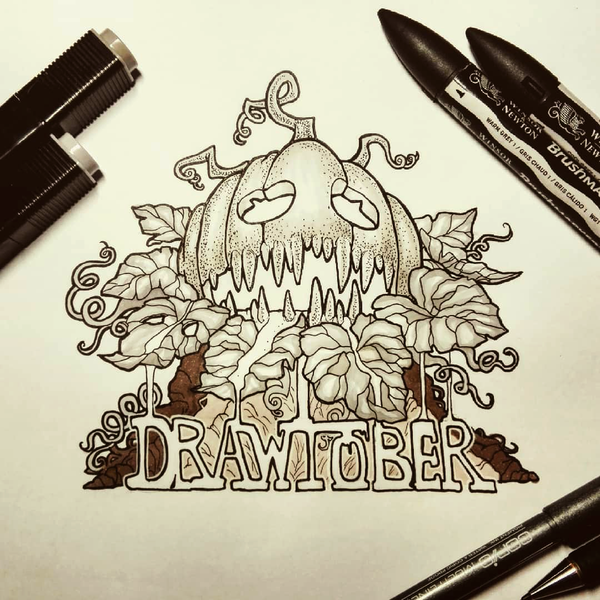 Poisonous Pumpkin Head - DAY 1 by Stamios