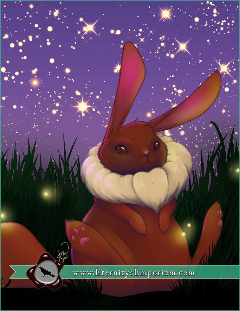 Digital - Eastery Eevee (Pokemon) by EternityEmporium