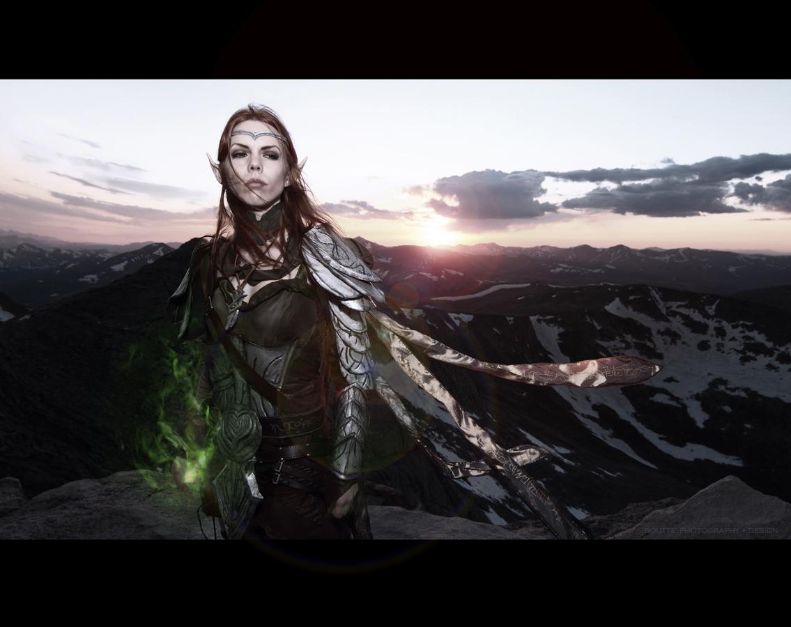 COSPLAY: Elder Scrolls Online, Altmer High Elf by DymondStarr
