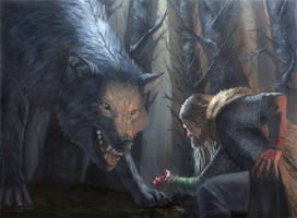 Sacrifice, a tale of Tyr and Fenrir