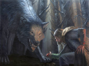 Sacrifice, a tale of Tyr and Fenrir