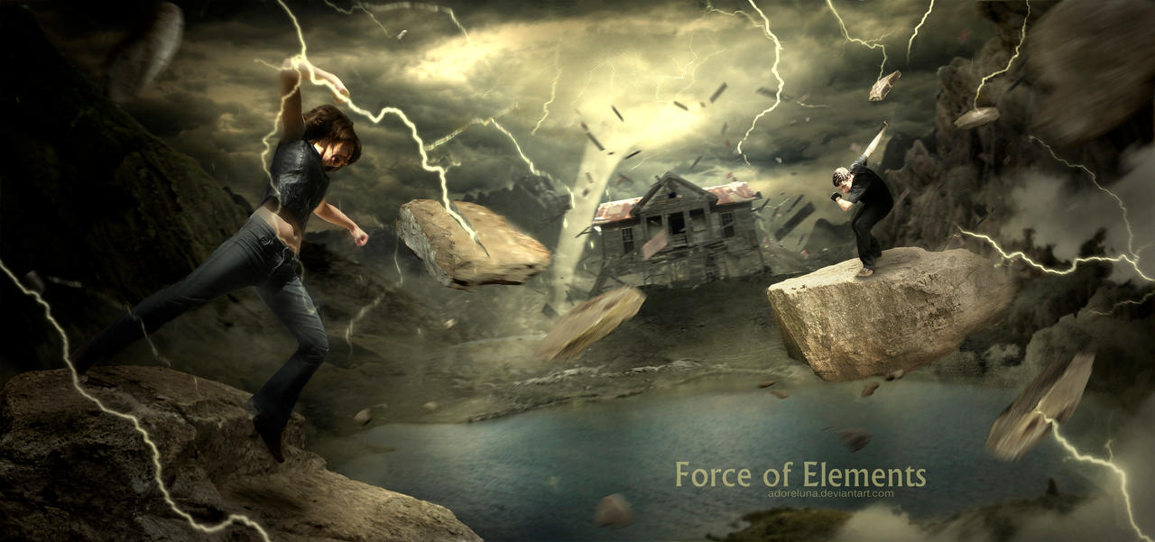 Force Of Elements by adoreluna