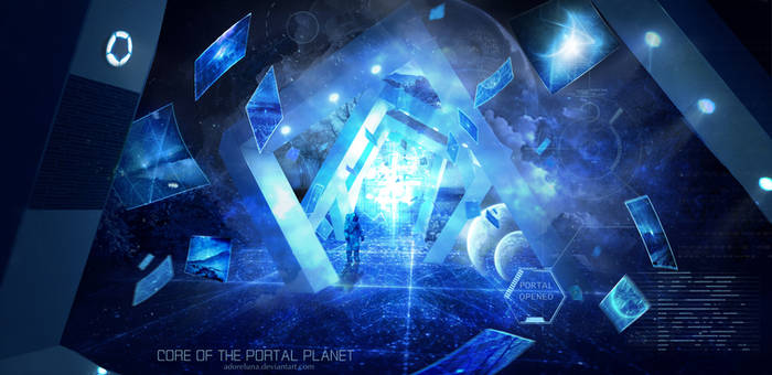 Core Of The Portal Planet