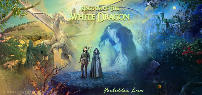 Kingdom of the White Dragon: Forbidden Love by tornadoeyesART