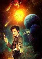 The Doctor  by tornadoeyesART