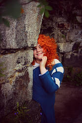 Hiding from Trouble (Brave: Merida)