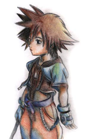 Kingdom Hearts by july31st