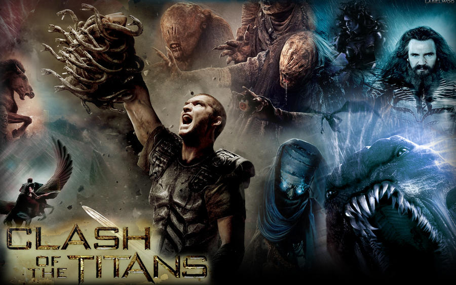 Clash Of The Titans Wallpaper By Laselwoo On DeviantArt