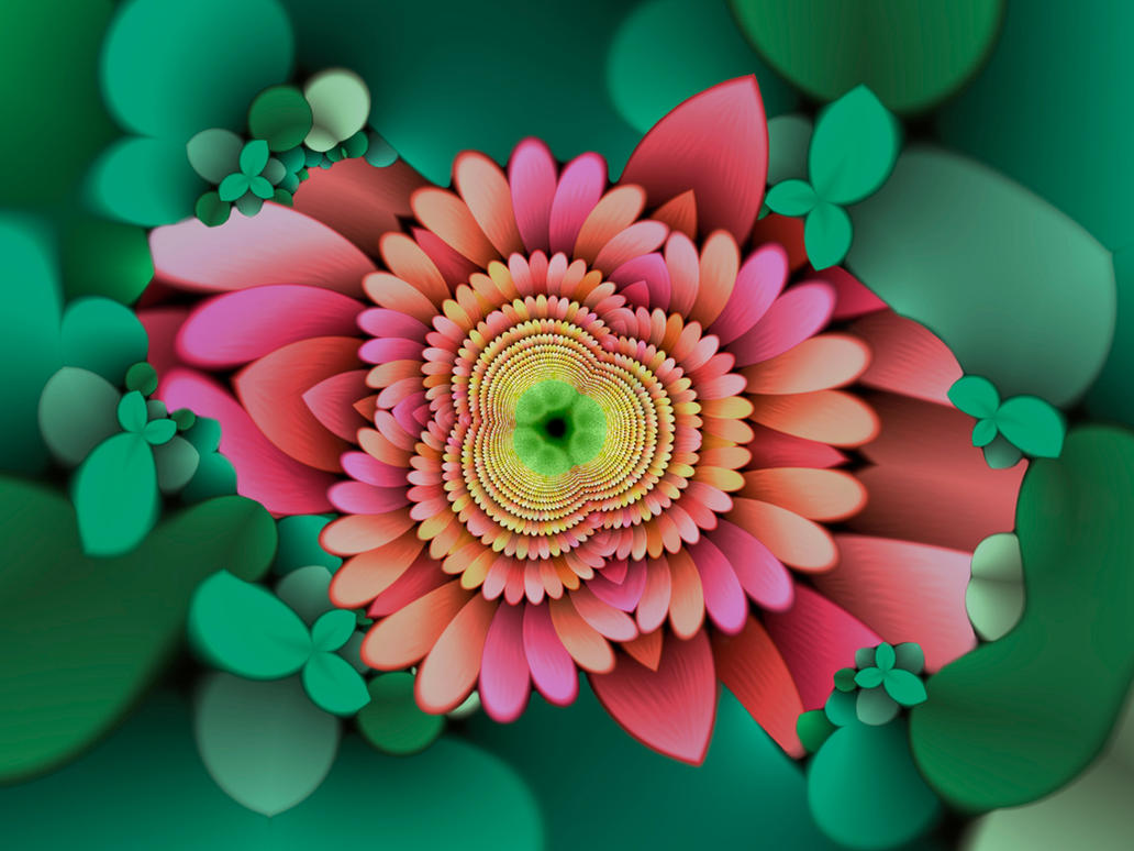 Fractal In Nature by drlew