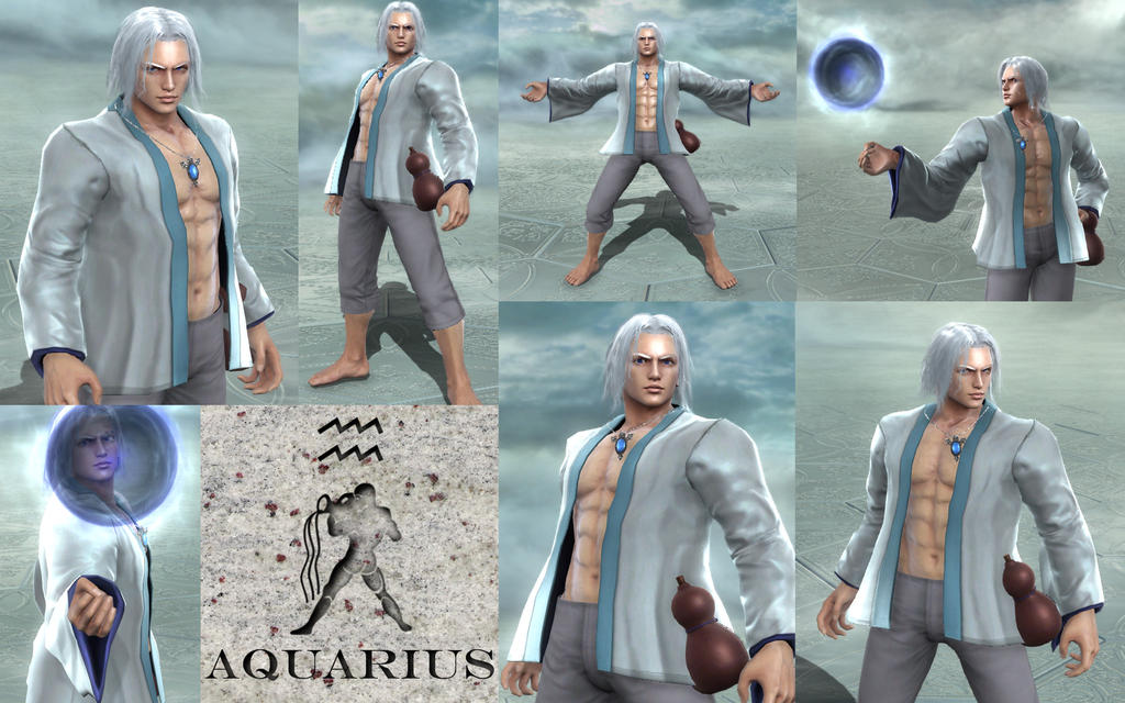 Soul Calibur V CAS - Aquarius by MorganOperandi