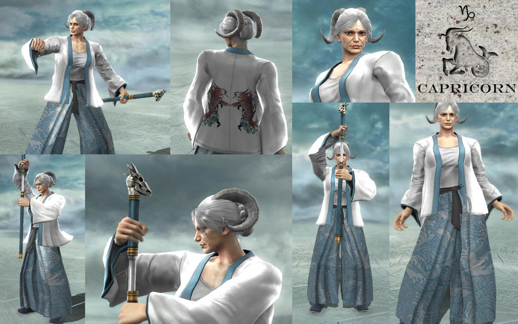 Soul Calibur V CAS - Capricorn by MorganOperandi