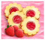 PS - Strawberry Jam Cookies