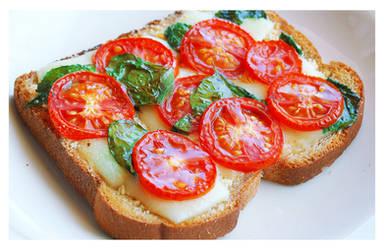 Veggie on Toast by ScarletWarmth