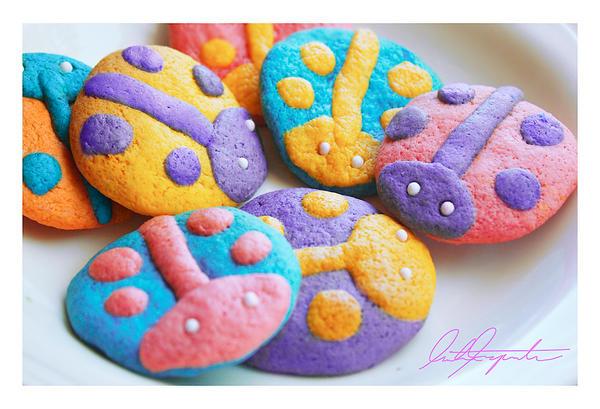 revised Ladybug Cookies by VintageWarmth