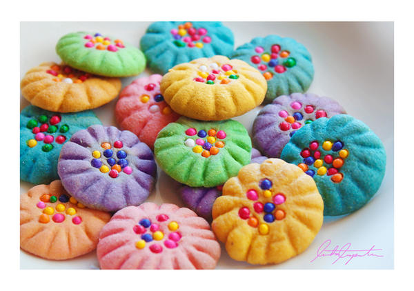 Pin Cushion Cookies by VintageWarmth