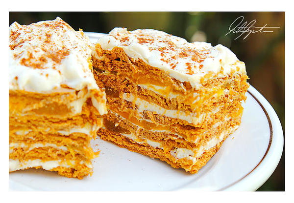 No Bake Graham Mango Tiramisu By Scarletwarmth