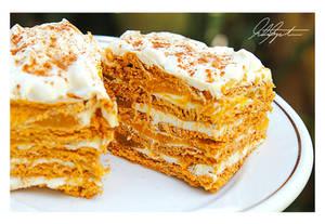 No Bake Graham Mango Tiramisu by ScarletWarmth