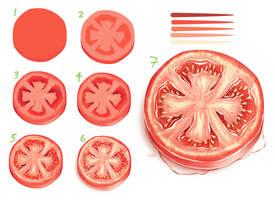 Time lapse - Tomato Slice