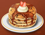 Chocolate Chip Pancakes Study