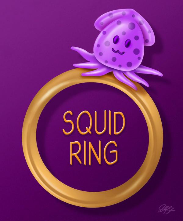 Squid Ring - Pun Intended