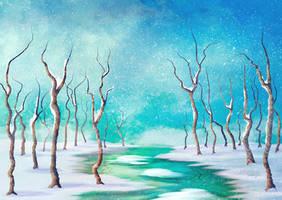 Frozen Creek - Edited by ScarletWarmth