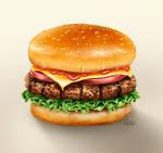 Redraw Challenge - Hamburger