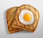 Toad in a Hole in Realism