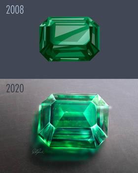Redraw Challenge, Emerald