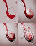Red Wine Time-lapse Art