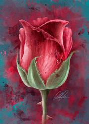 Grunge Rose