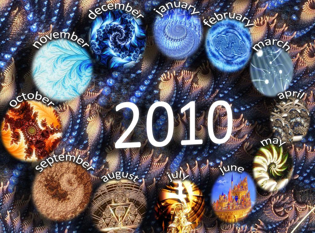 2010 Fractal Calendar
