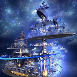 Sierpinski Paradise by DarK--MatteR