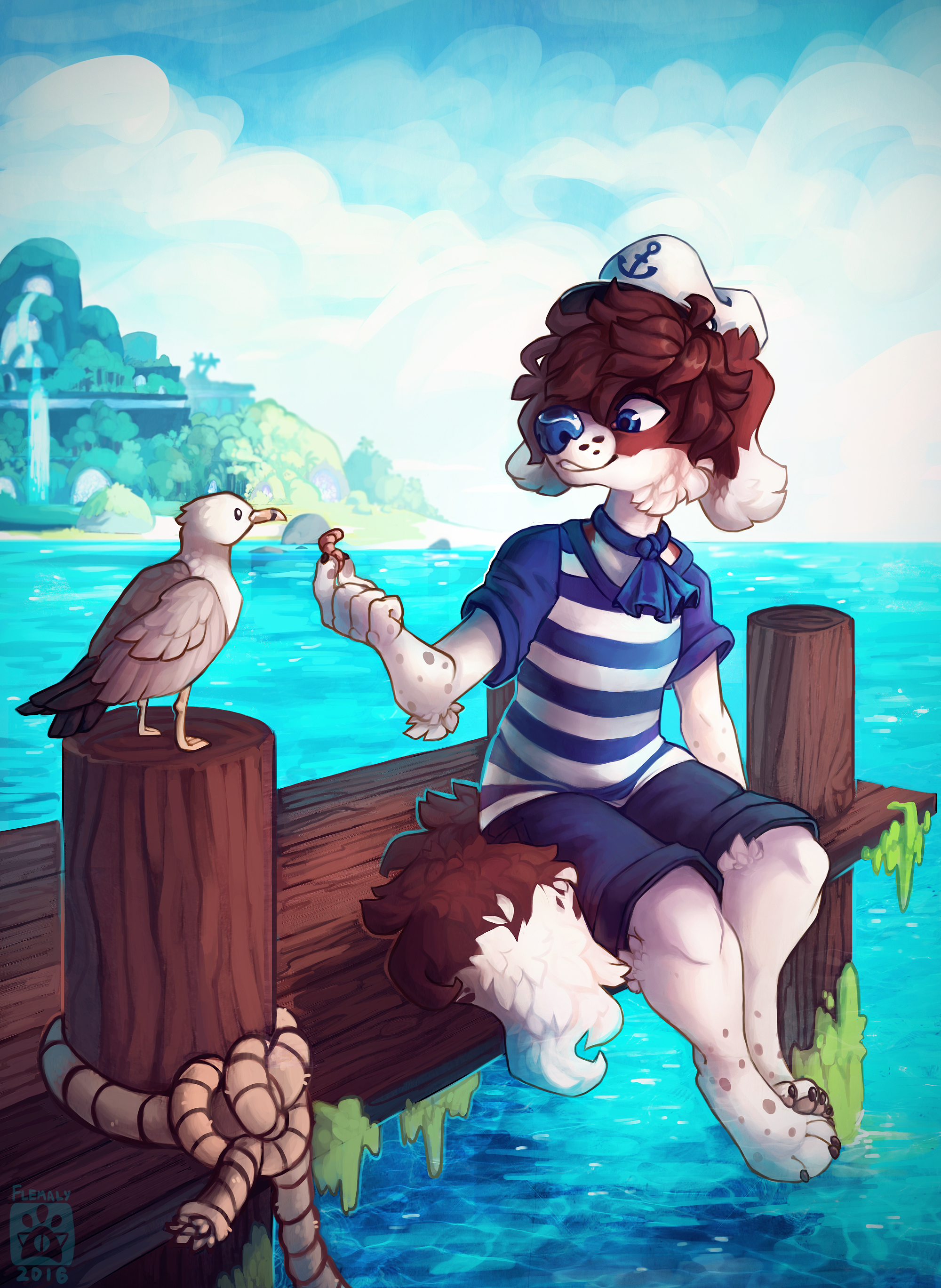 Do not feel the seagulls by Flemaly