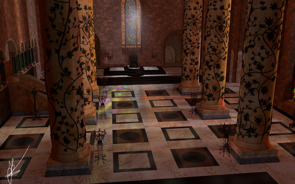 Game Of Thrones Winterfell Throne Room