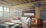Industrial/Urban interior design
