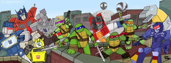 Transformers And Teenage Mutant Ninja Turtles