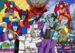 Transformers The Movie 1986- Art Print