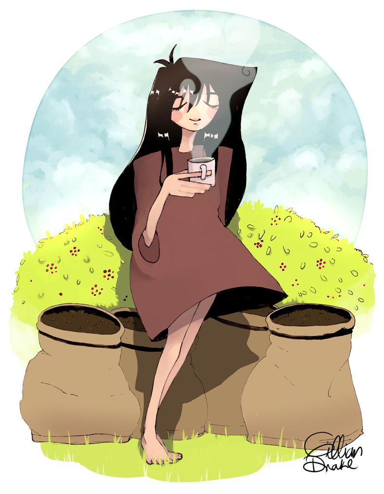 Coffee by MushyBeanCurd