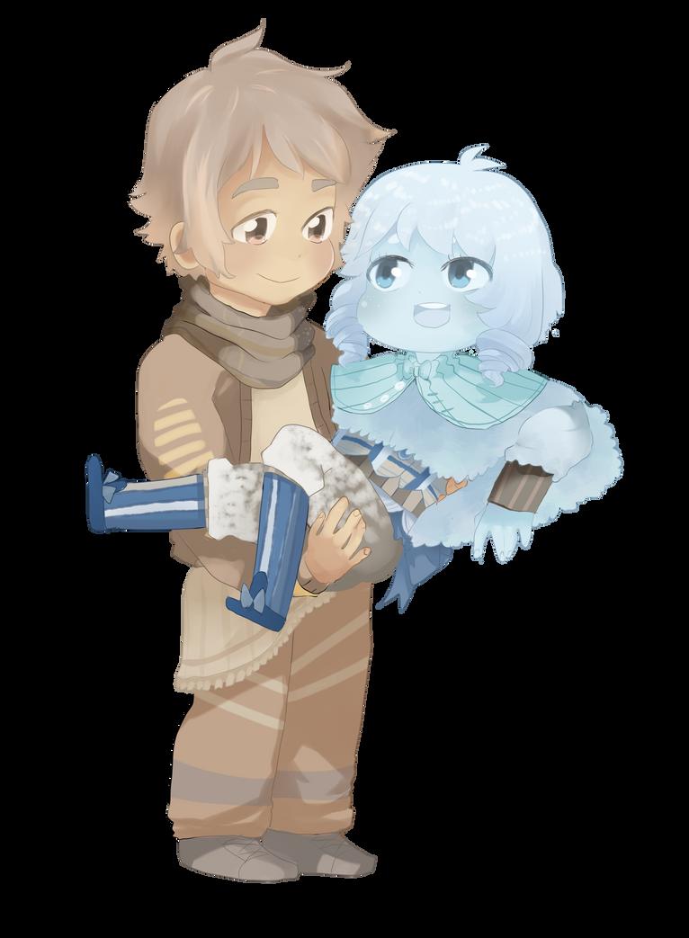 Taliah and Derick by MushyBeanCurd