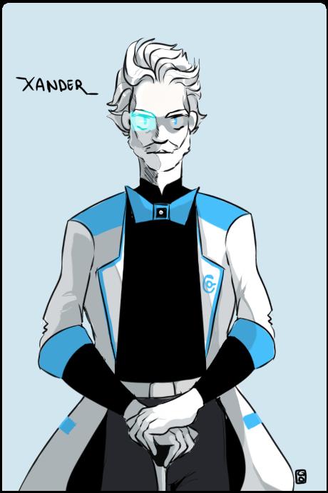 Request: Xander by MushyBeanCurd