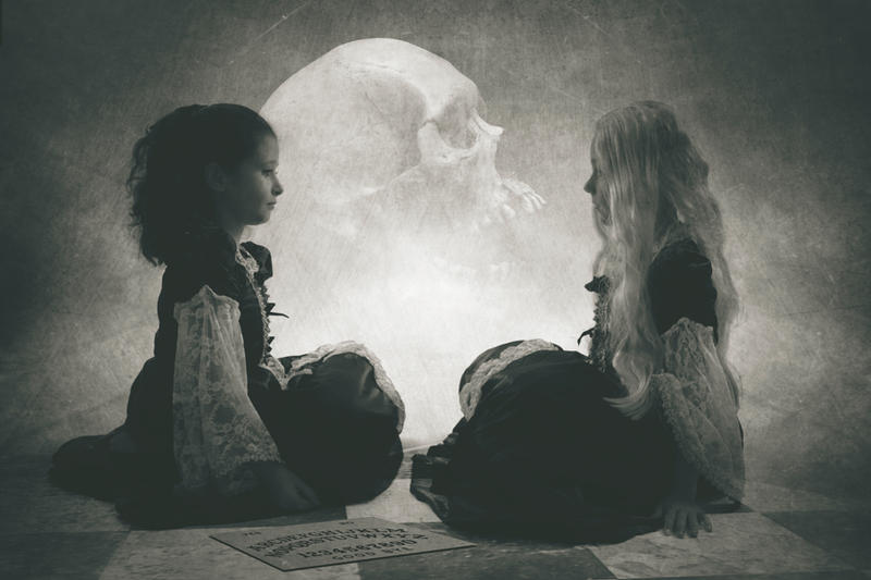 ouija by SpookyPic on DeviantArt
