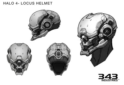 Halo 4 Locus Helmet