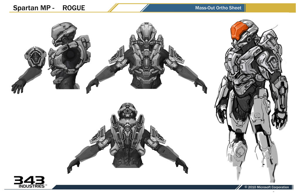Gallery For gt Halo 4 Armor Designs