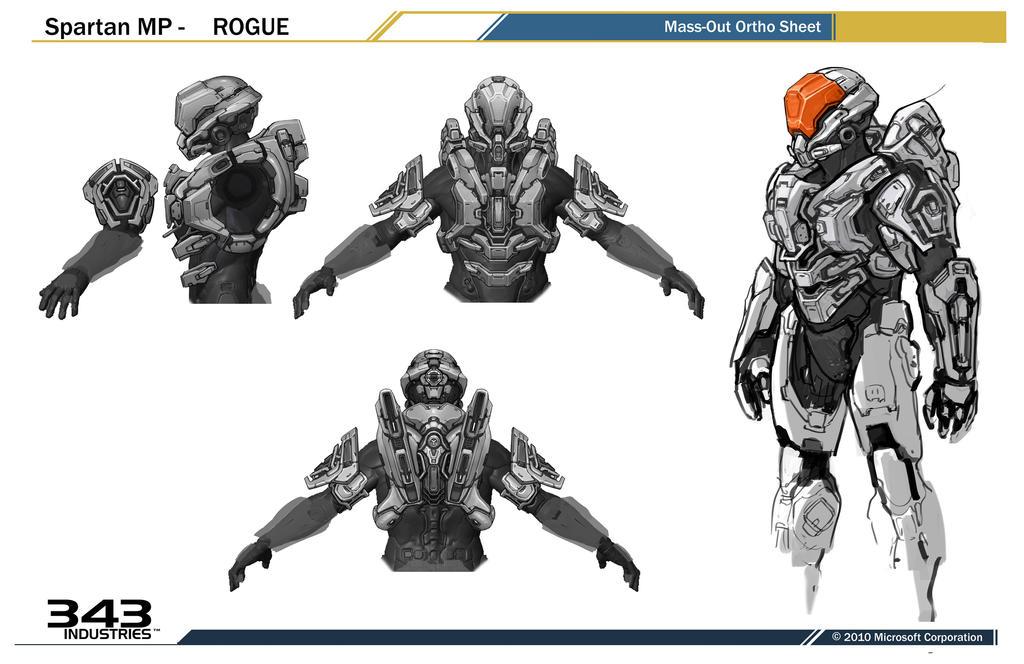 concept ships: Halo 4 concept art by sparth