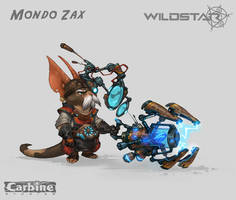 Mondo Zax (Wildstar Concept)