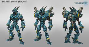 Wildstar Engineer Armor Concept