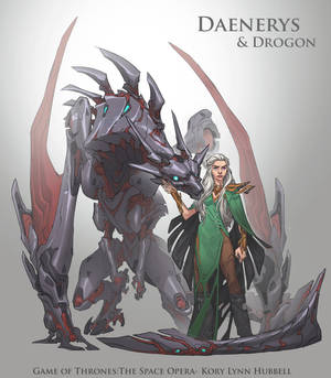 Game of Thrones, the Space Opera- Daenerys