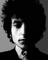 Bob Dylan Vector