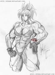 bulky Leona sketch